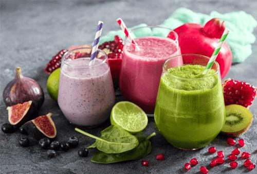 Smoothieler - Eliksirler ve Bitki Çayları