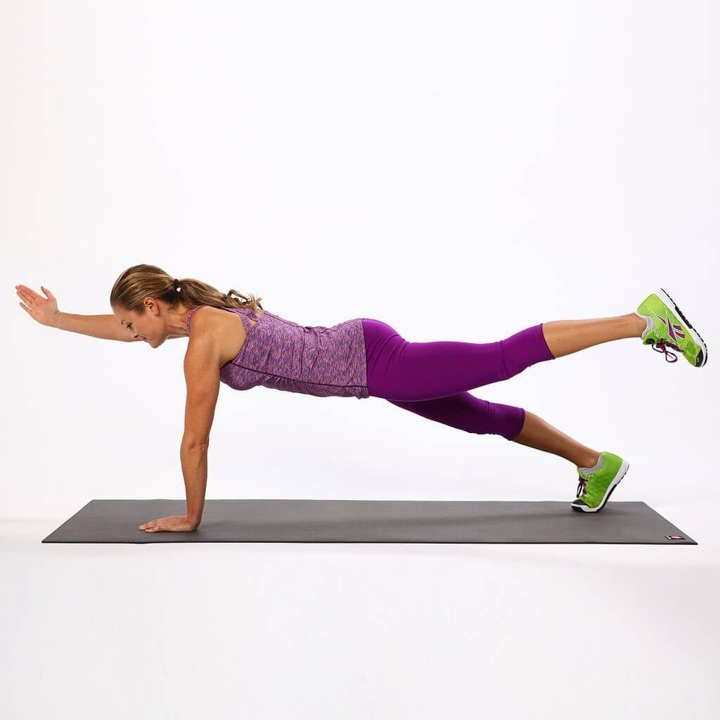 Çapraz kol ve bacak kaldırma